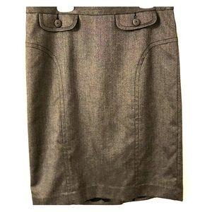 Grey Trina Turk pencil skirt